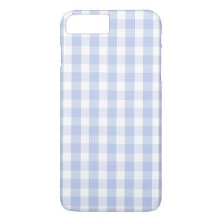 英国の国の庭のアリスの青いギンガム iPhone 8 PLUS/7 PLUSケース