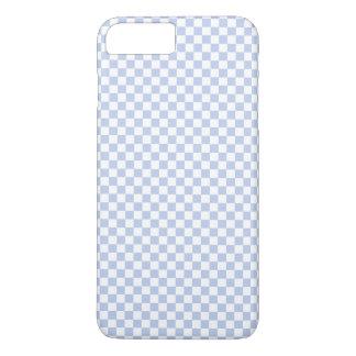 英国の国の庭のアリスの青いチェッカーボード iPhone 8 PLUS/7 PLUSケース