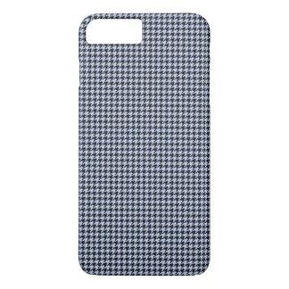 英国の国の庭のアリスの青い千鳥格子の iPhone 8 PLUS/7 PLUSケース