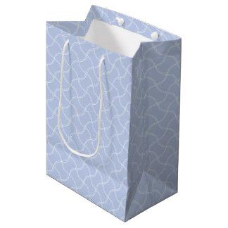 英国の国の庭のアリスの青い小型歩道 ミディアムペーパーバッグ