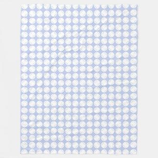 英国の国の庭のアリス青いウィンブルドン フリースブランケット
