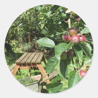 英国の国の庭 ラウンドシール
