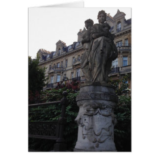 英国の彫像Notecard カード