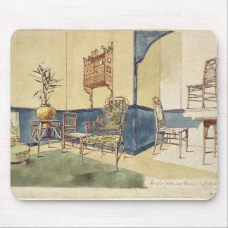英国の日本様式の家具はエドワードWによって設計します マウスパッド