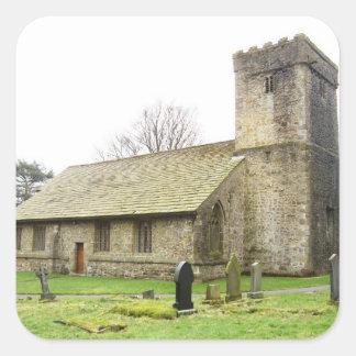 英国の村教会 スクエアシール