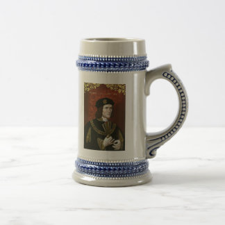 英国の王リチャード三世のポートレート ビールジョッキ
