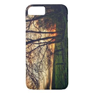 英国の田舎日没HDRのiPhone 7の場合 iPhone 7ケース