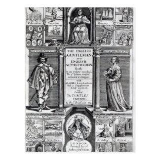 「英国の紳士へのFrontispiece ポストカード