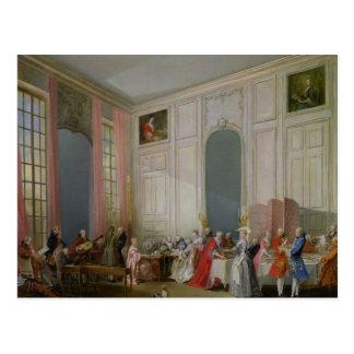 英国の茶および社会コンサート ポストカード