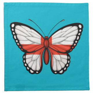 英国の蝶旗 ナプキンクロス