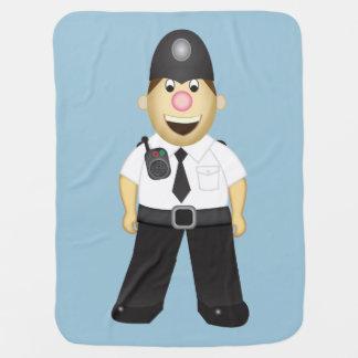 英国の警官毛布 ベビー ブランケット
