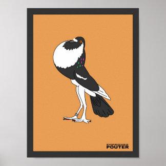 英国のPouterのプリント ポスター