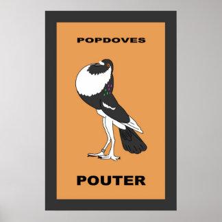 英国のPouterポスター ポスター