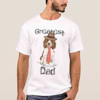 英国スプリンガーのパパ Tシャツ