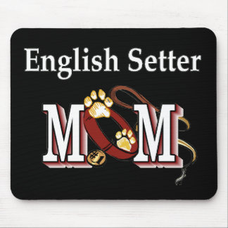 英国セッターのお母さんのギフト マウスパッド