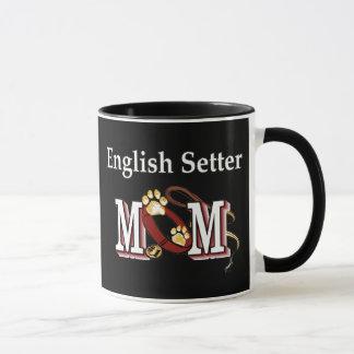 英国セッターのお母さんのマグ マグカップ