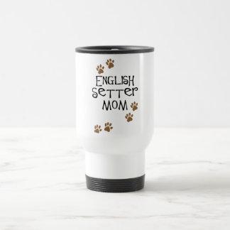 英国セッターのお母さん トラベルマグ