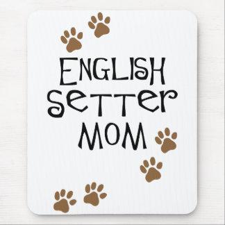 英国セッターのお母さん マウスパッド