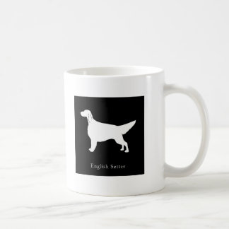 英国セッターのマグ(黒) コーヒーマグカップ