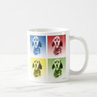 英国セッターの破裂音 コーヒーマグカップ