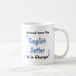 英国セッター充満 コーヒーマグカップ