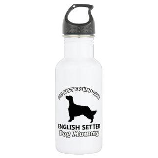 英国セッター犬のデザイン 532ML ウォーターボトル