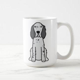 英国セッター犬の漫画 コーヒーマグカップ