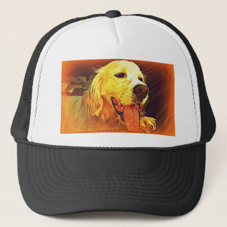 英国セッター犬 キャップ