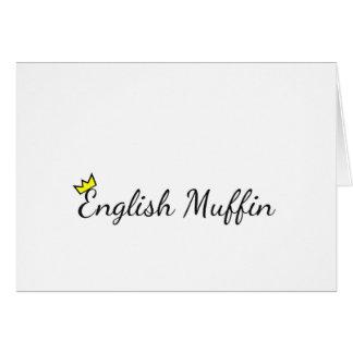 英国マフィン カード