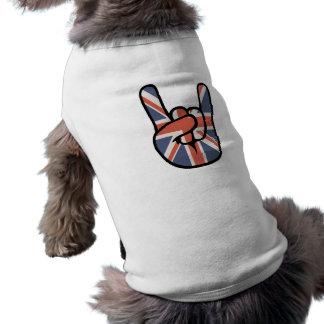 英国人の石手 ペット服