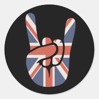 英国人の石手 ラウンドシール