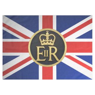 英国国旗および王室のな記念祭の記章 テーブルクロス