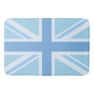 英国国旗か旗のデザインの青 バスマット