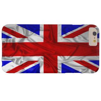英国国旗のしわを寄せられた旗 BARELY THERE iPhone 6 PLUS ケース