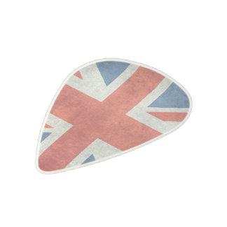 英国国旗のイギリスのイギリスの旗のレトロのギターピック アセタール ピック