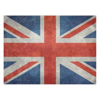 英国国旗のイギリスのイギリスの旗のレトロのスタイルのテーブルクロス テーブルクロス