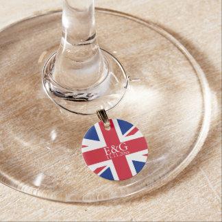 英国国旗のイギリスの旗のイギリスの結婚式