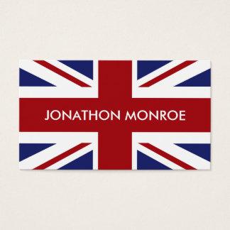 英国国旗のイギリスの旗、イギリス 名刺