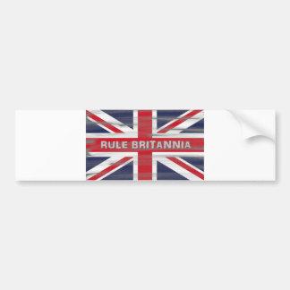 英国国旗のイギリスの旗 バンパーステッカー