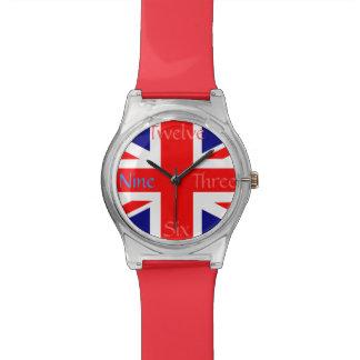 英国国旗のイギリスの旗 腕時計