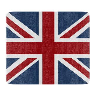 英国国旗のクラシックな旗 カッティングボード