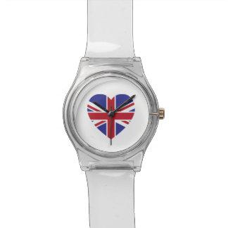 英国国旗のハートは第28腕時計よろしいです 腕時計