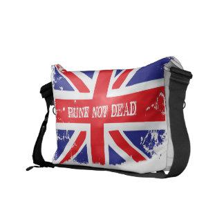 英国国旗のパンクBookbag クーリエバッグ