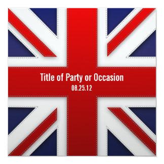 英国国旗のパーティの招待状/イギリスのパーティの招待状 カード