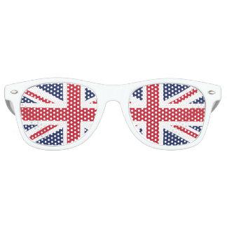 英国国旗のパーティの陰 レトロサングラス