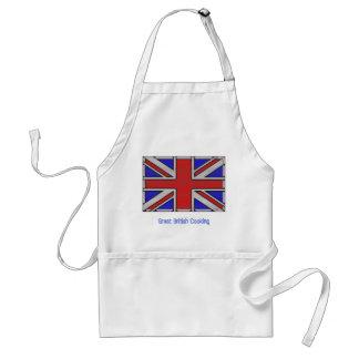 英国国旗のベクトル芸術 スタンダードエプロン