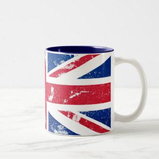 英国国旗のマグ ツートーンマグカップ