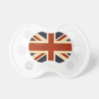 英国国旗のレトロ おしゃぶり