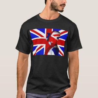 英国国旗の人 Tシャツ