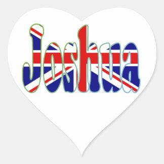 英国国旗の切り出しジョシュア ハートシール